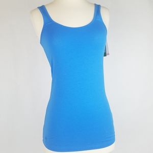 Lilly Pulitzer Tabbie Tank Pima Stretchy Blue Top